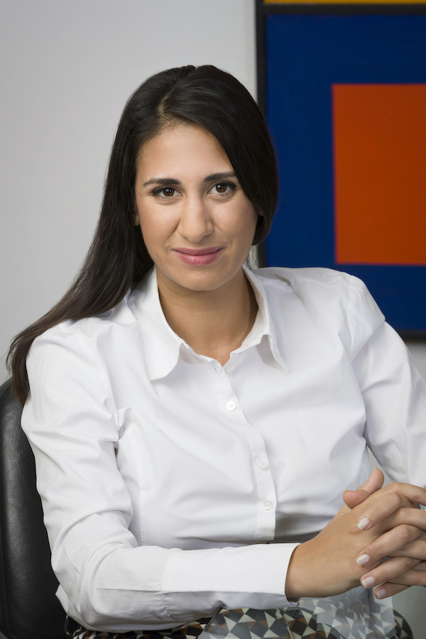 Close up photograph of team member Ліна Патсі