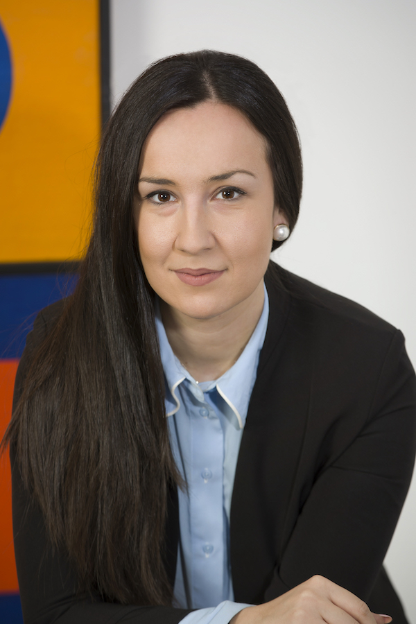 Close up photograph of team member Ніколетта Строве
